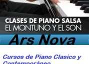 Clases de piano cursos vacacionales de música