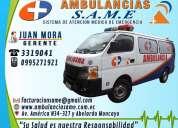 Same servicio de ambulancias en ecuador. cobertura de eventos. servicios medicos pre-hospitalarios