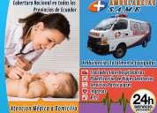 Servicio de ambulancia para traslado neonatal en incubadoras para recien nacidos. same ambulancias