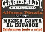 Precios de mariachis en quito, los mejores mariachi garibaldi internacional 3240504 / 0999848400