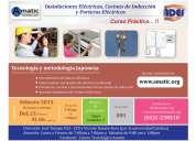 Promocion curso de instalaciones electricas, cocinas de induccion y porteros electricos