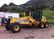 Vendo motoniveladora new holland aÑo 2011 con trabajo mesualizado