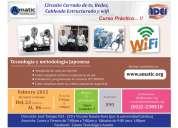 Se ofrece curso: aprenda instalcion de camaras cctv, redes y cableado estructurado