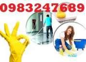 Servicios de limpieza a domicilios