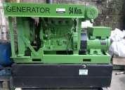 Generador diesel john deere 54 kva vendo