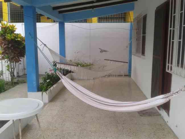 Casa cerca a la playa San Vicente, Bahía de Caráquez