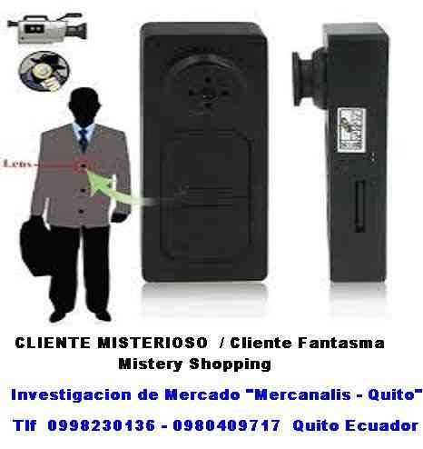 Ofrecemos servicio Cliente fantasma, mystery shopper,