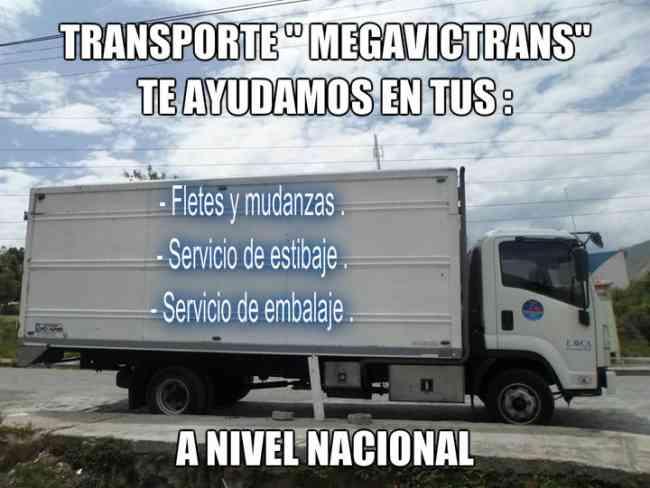 Nuestra flota de camiones te ayudamos en tus FLETES Y MUDANZAS