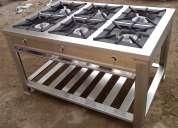Cocinas industriales fabricadas en acero inoxidable en quito
