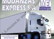 Contamos con camiones de diversas toneladad. mudanzas